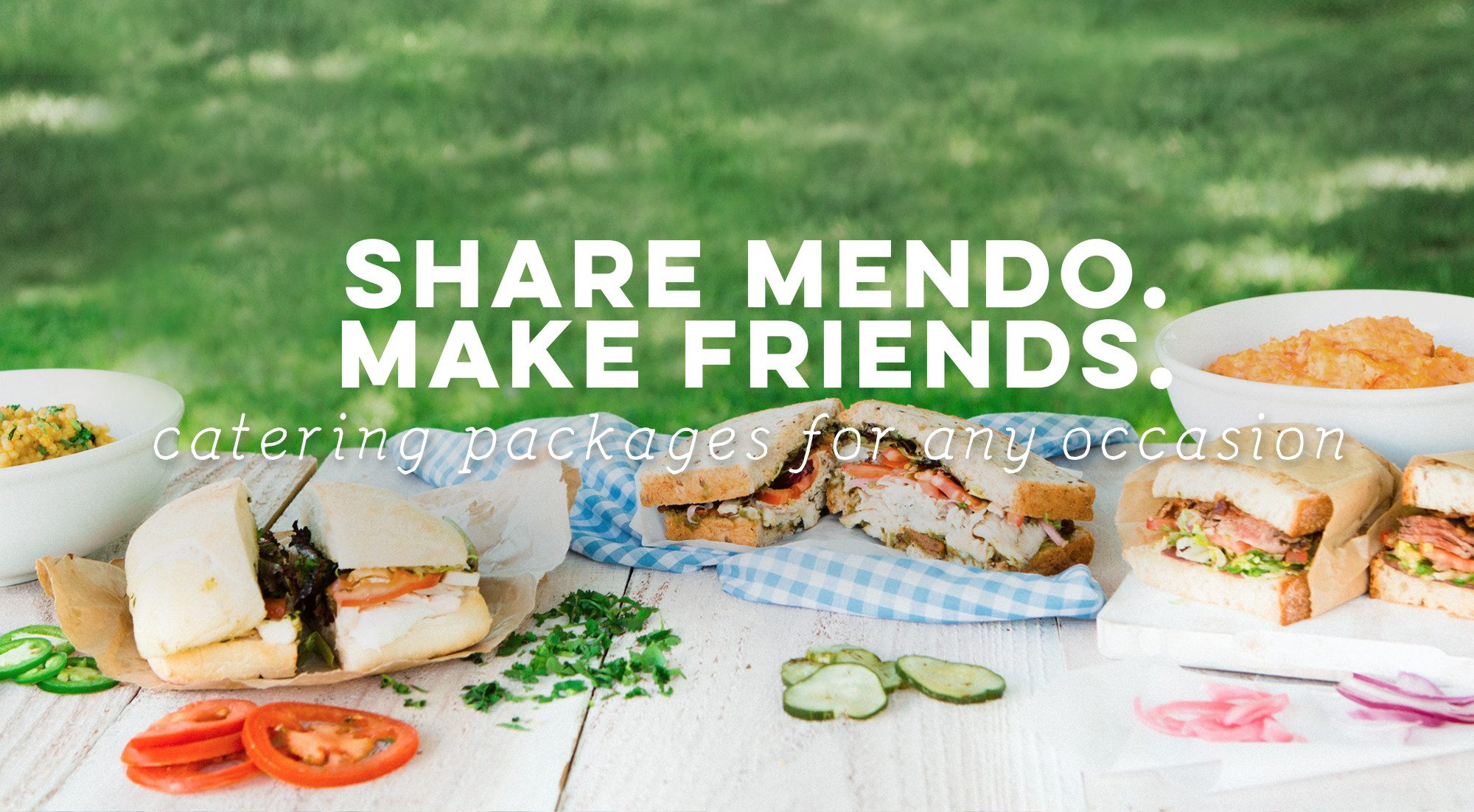 Mendocino Farms Catering - Delivery